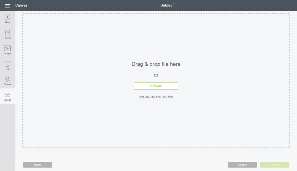 DonVitoDesign Upload Images Cricut