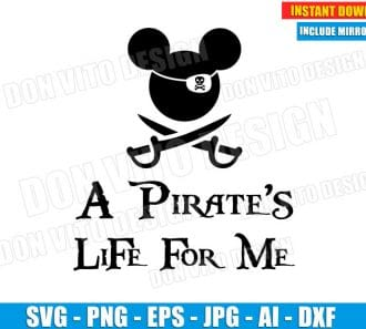 A Pirate's Life for me (SVG dxf png) - DonVitoDesign Store
