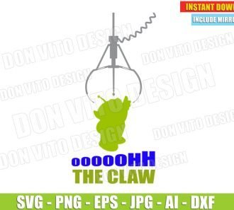 Alien Toy Story Quote (SVG dxf png) SVG cut files PNG image vector clipart - DonVitoDesign Store