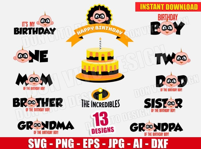 View Birthday Svg Bundle In Svg/Dxf/Png/Jpeg/Eps PNG