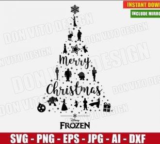 Christmas Disney Svg Cut Files Png Clipart Images Cricut Silhouette