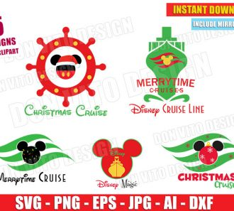 Disney Cruise Line Bundle (SVG dxf png) cut files PNG image vector clipart - DonVitoDesign Store