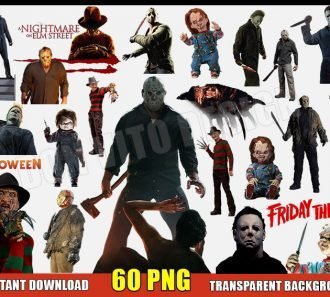 Horror Movies Clipart (60 PNG Images) Transparent Background Files Digital Image clipart - Don Vito Design Store