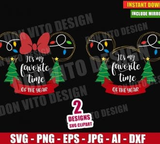 It's My Favorite Time of Year (SVG dxf png) cut files PNG image vector clipart - DonVitoDesign Store