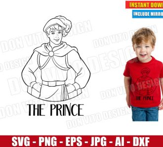 The Prince (SVG dxf png) cut files PNG image vector clipart - DonVitoDesign Store