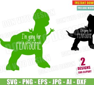I'm going for Fearsome (SVG dxf png) SVG cut files PNG image vector clipart - DonVitoDesign Store