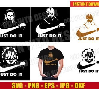 Just Do It Bundle (SVG dxf png) cut files png image vector clipart - DonVitoDesign Store