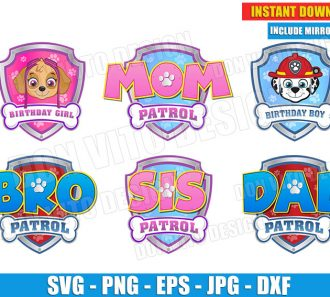 Logo Paw Patrol Birthday Party