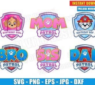 Logo Paw Patrol Birthday Party