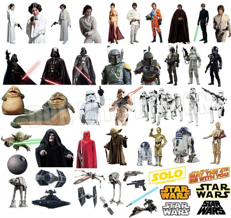 Star Wars Transparent Background Files Digital Image clipart - Don Vito Design Store