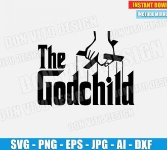 The Godchild (SVG dxf png) SVG cut files PNG image vector clipart - DonVitoDesign Store