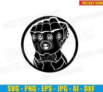 The Infinity Gauntlet (SVG dxf PNG) SVG cut files PNG image vector clipart - DonVitoDesign Store