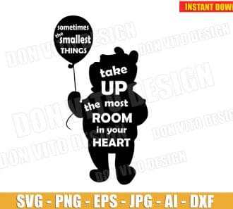 Winnie the Pooh SVG dxf png cut files image vector clipart - DonVitoDesign Store -