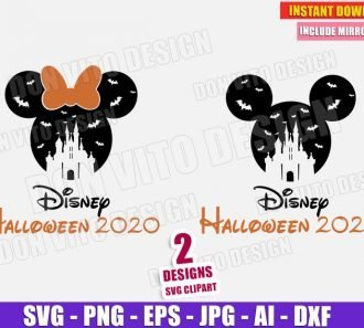 Disney Castle Halloween 2020 (SVG png) cut files image vector clipart - DonVitoDesign Store