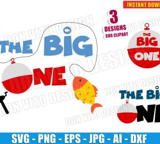 The Big One Bundle (SVG dxf png) cut files PNG image vector clipart - DonVitoDesign Store