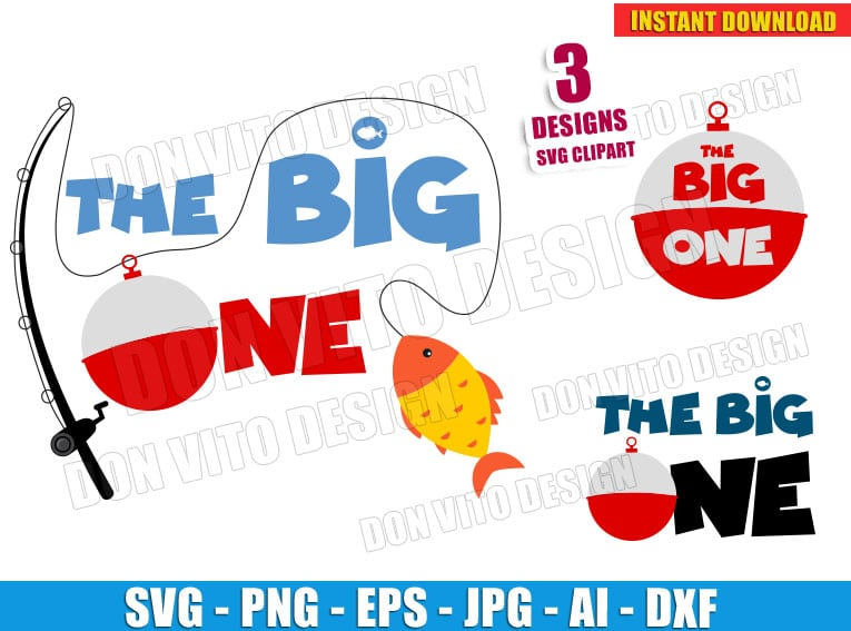 The Big One Bundle Svg Dxf Png First Birthday Cut Files Cricut Clipart