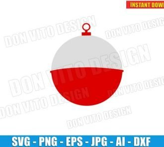 Bobber Fishing Float (SVG dxf PNG) Cut Files Image Vector Clipart - Don Vito Design Store