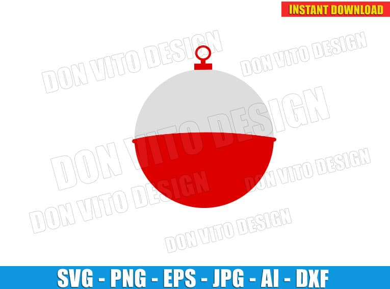 Bobber Fishing Float Svg Dxf Png Hobby Summer Lure Fish Cut Files