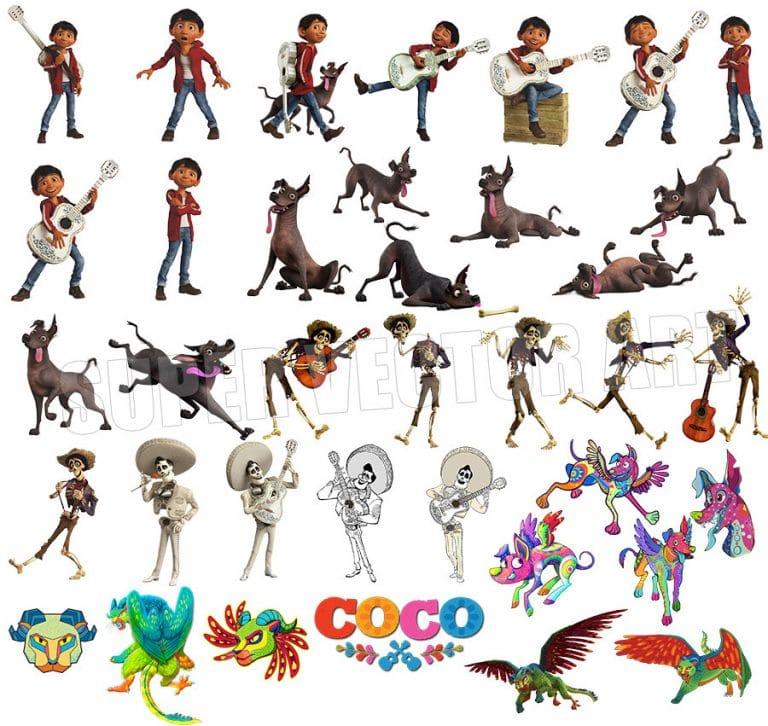 Coco Transparent Background Files Digital Image clipart - Don Vito Design Store