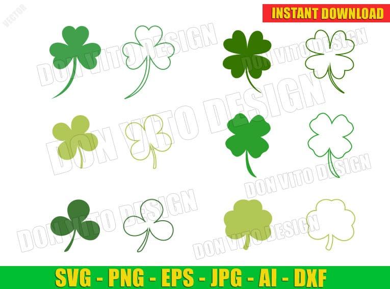 kiss me im irish svg lucky clover svg st patricks day svg files Clover Svg Shamrock Svg  lucky clover svg  Cricut Cut Files Cricut Cut Files
