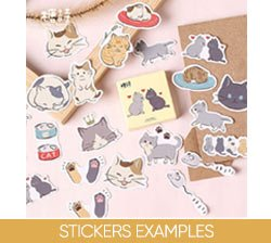 Stickers Examples on Amazon