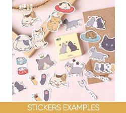 Stickers Examples on Amazon