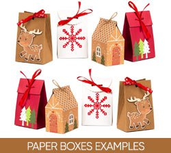 Paper Boxes Examples on Amazon