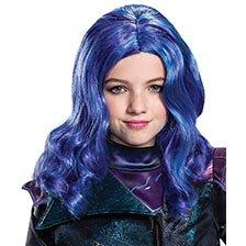 Descendants 3 Mal Wig Costume Accessory