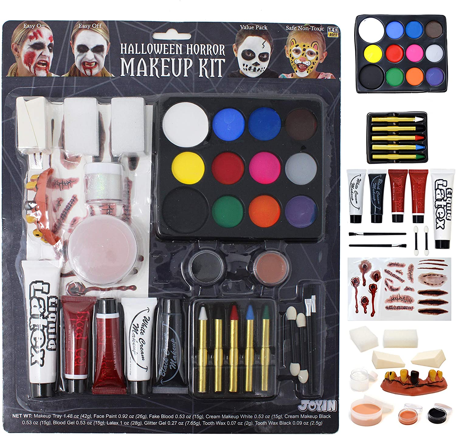 Halloween Makeup Set Ultimate Family Party