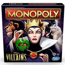 Hasbro Gaming Monopoly Disney Villains Edition
