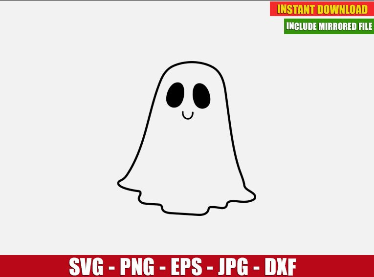 Spooky Ghost Valentines PNG Clip Arts Digital Instant download