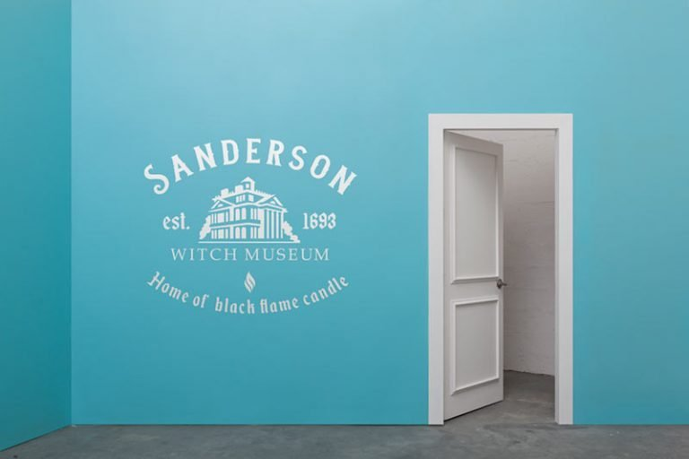 Wall Example - Sanderson Witch Museum (SVG dxf PNG) Halloween Hocus Pocus Movie Sisters Cut File Silhouette Cricut Vector Clipart - Don Vito Design Store