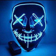 Moonideal Halloween Light Up Mask