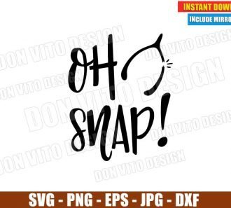 Oh Snap Wishbone Turkey (SVG dxf png) Thanksgiving Holiday Fall Autumn Cut File Silhouette Cricut Vector Clipart - Don Vito Design Store