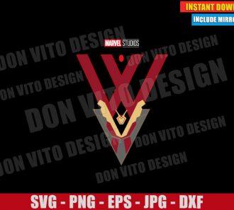 WandaVision Logo Marvel (SVG dxf png) Disney Tv Show Cut File Cricut Silhouette Vector Clipart - Don Vito Design Store