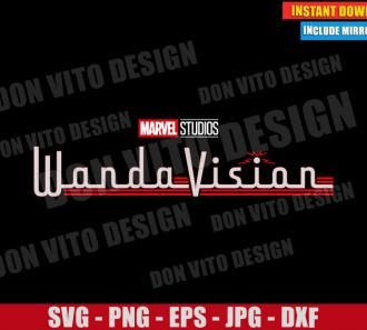 WandaVision Logo (SVG dxf png) Disney Marvel Tv Show Cut File Cricut Silhouette Vector Clipart - Don Vito Design Store