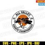 All Valley Championship Miyagi Do (SVG dxf png) Karate Kid Bonsai Tree Dojo Logo Cut File Cricut Silhouette Vector Clipart Design Karate Kid svg