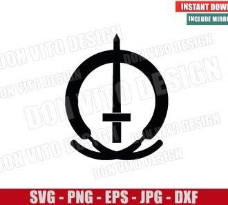Marvel S.W.O.R.D Logo (SVG dxf png) Sword Symbol Cut File Cricut Silhouette Vector Clipart - Don Vito Design Store