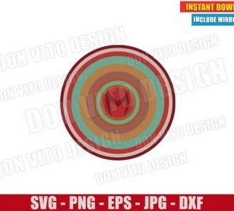 Scarlet Witch Retro 70s Art (SVG dxf png) Disney Wanda Maximoff Cut File Cricut Silhouette Vector Clipart - Don Vito Design Store