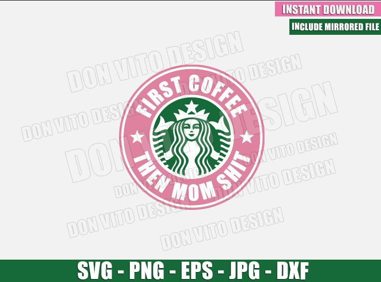 Silhouette Cricut Coffee Starbucks SVG