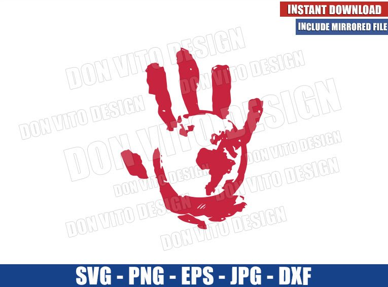 Flag Smashers Hand World Logo (SVG dxf png) Falcon and Winter Soldier Cut File Cricut Silhouette Vector Clipart - Don Vito Design Store