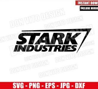 Stark Industries Logo (SVG dxf png) Marvel Comics Tony Stark Company Cricut Silhouette Vector Clipart - Don Vito Design Store
