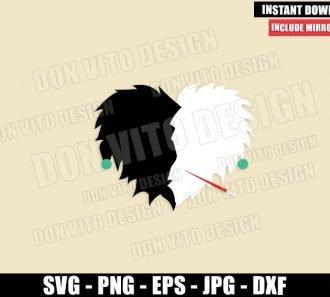 Disney Heart Cruella de Vil (SVG dxf png) Disney Love Villain Cut File Cricut Silhouette Vector Clipart - Don Vito Design Store