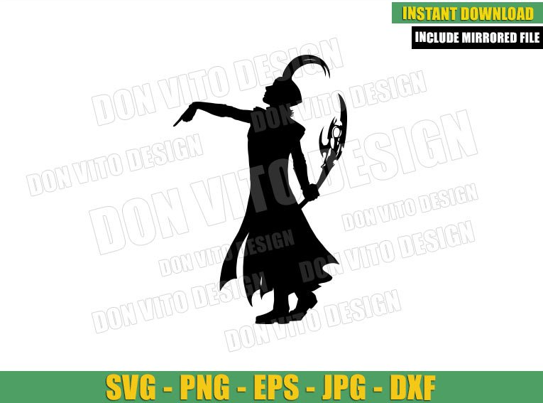 On your Knees Mortals (SVG dxf png) Loki Disney Tv Series Cut File Cricut Silhouette Vector Clipart - Don Vito Design Store