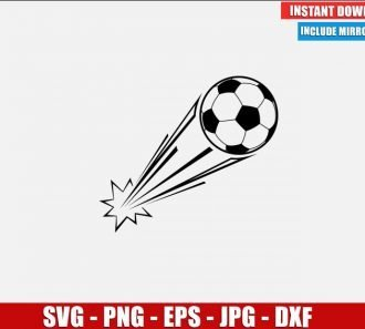 Soccer Ball SVG Free Cut File for Cricut Silhouette Freebie Sport Clipart Vector PNG Image Download Free