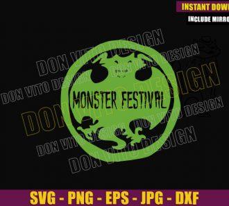 Monster Festival Logo (SVG dxf png) Hotel Transylvania Fest Cut File Cricut Silhouette Vector Clipart - Don Vito Design Store