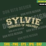 Sylvie Goddess Of Mischief  (SVG dxf png) New Loki Variant Cut File Cricut Silhouette Vector Clipart T-Shirt Design Marvel Tv svg