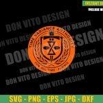 TVA Marvel Badge (SVG dxf png) Time Variance Authority Logo Cut File Cricut Silhouette Vector Clipart T-Shirt Design Tv Show Loki svg