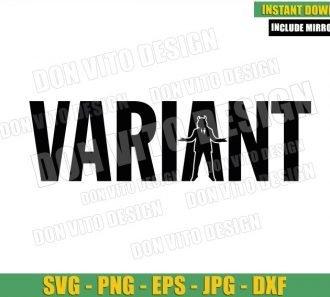 Variant Loki President (SVG dxf png) Loki Tv Show TVA Logo Cut File Cricut Silhouette Vector Clipart - Don Vito Design Store