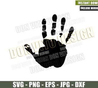 Jeep Wave Hand (SVG dxf png) Outdoor Life Offroad Fingers Cut File Cricut Silhouette Vector Clipart - Don Vito Design Store